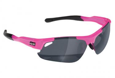 AZR Speed Glasses Translucent Pink / Mirror Grey