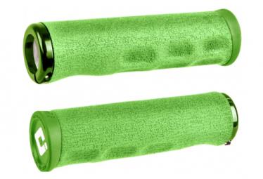 Poignées ODI Tinker Juarez Dread Lock Grips Vert / Locks Vert