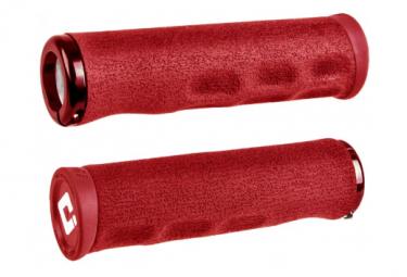 Poignées ODI Tinker Juarez Dread Lock Grips Rouge / Locks Rouge