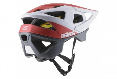 Alpinestars Hemlet Vector Tech Polar / Red / White / Matt 2019