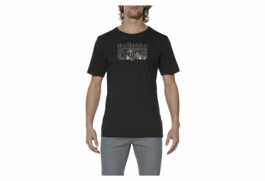 Onitsuka Tiger Logo Polo OK4011-0090 Homme t-shirt Noir