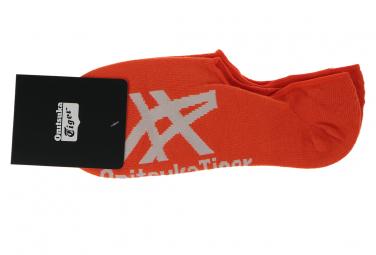 Onitsuka Tiger Invisible Socks OKG510-2301 Non Communiqué chaussettes Rouge