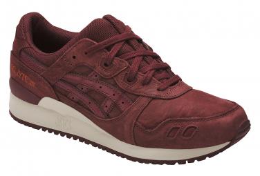photos officielles 57d7a b7872 Asics Gel-Lyte III HL7V3-2626 Non Communiqu? chaussures de sport Bordeaux