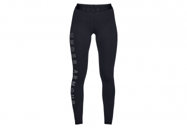Under Armour Favourite Wordmark Legging 1329318-001 Femme legging Noir