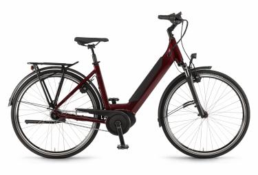 Winora Sinus iN7 Monotube Womens E-Bike  Rouge / Noir
