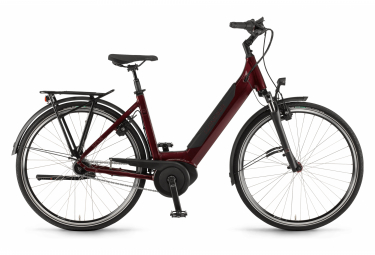 Winora Sinus iN7f Womens E-Bike  Rouge / Noir