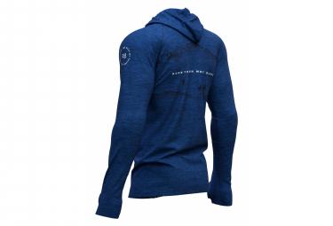 Compressport Haut 3D Thermo Seamless Blue Mont Blanc Men