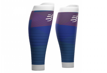 Compressport Manchons R2 Oxygen Blue