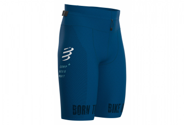 Cuissard Triathlon Compressport Under Control Oxygen Kona Bleu Homme