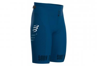 Cuissard Triathlon Compressport Under Control Oxygen Kona Bleu Homme