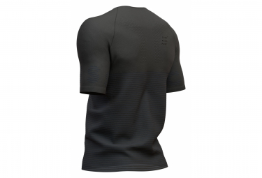 Maillot Manches Courtes Compressport Training Shirt Black Edition 2019 Noir Homme