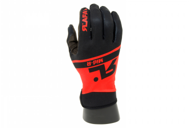 RAFA'L MID-R Mid-Season Gloves Black / Red