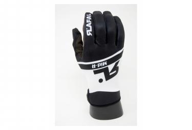 RAFA'L MID-R- Mid Season Gloves - Black & White