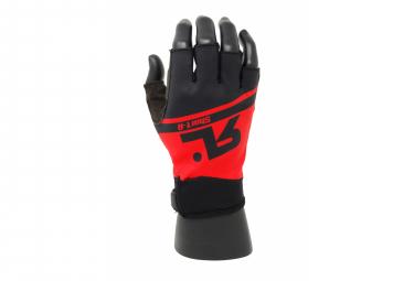 RAFA'L SHORT-R Summer Short Gloves Black & Red