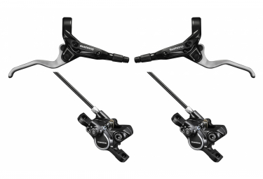 Pair of Shimano M365 brakes (without disc) Black