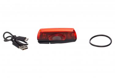 Éclairage Arrière Neatt 50 Lumens USB Noir