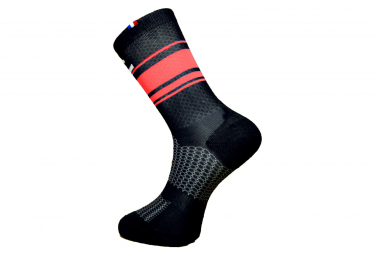 RAFAL BOA Black & Pink Socks