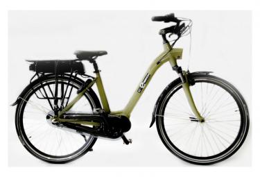 Vélo de Ville Electrique AC Emotion DeVille 28'' Shimano Nexus 3V Kaki