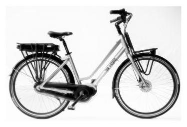 Vélo de Ville Electrique AC Emotion Porteur Maxdrive 28'' Shimano Nexus 8V Gris