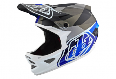 Troy Lee Designs Integral Helmet D3 Carbon Mips Jet Blue