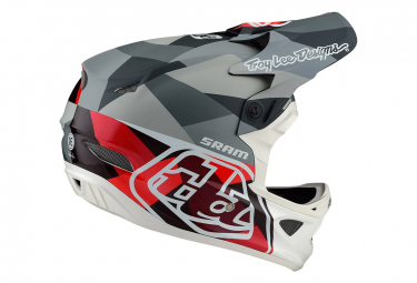 Troy Lee Designs Integral Helmet D3 Carbon Mips Jet Red