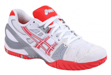Chaussures gel resolution 5 tennis blanc femme asics 35 1 2