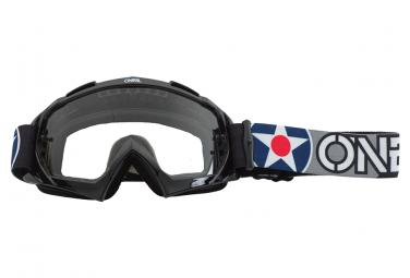 O  39 Neal B 10 Warhawk Goggle Lente Negro Gris   Transparente