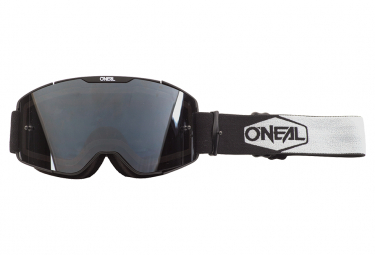 O'Neal B-20 Plain Goggle Black White / Gray Lens