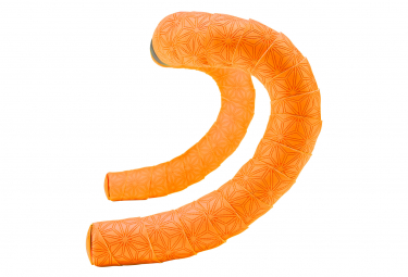 Ruban de cintre supacaz super sticky kush truneon orange avec bouchons