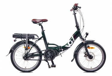 Image of Velo pliant electrique voltagreen british 20 shimano nexus 7 vert