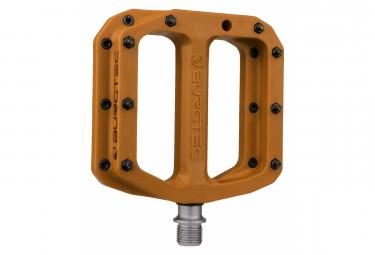 Burgtec MK4 Composite Flat Pedals Burgtec Brown