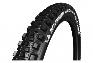 Michelin Wild Enduro Rear Competition Line MTB Tire 27.5 Plus Tubeless Ready Folding Skinwall Gravity Shield Pinch Protection GUM-X 3D E-Bike Ready