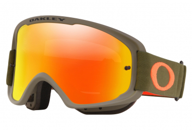 Oakley O-Fram 2.0 MTB Mask - Khaki / Orange