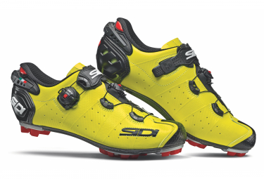 Sidi Drako 2 SRS MTB Shoes White Black Red