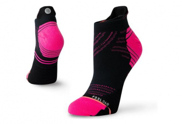 Chaussettes Basses Stance Fluo Tab / Noir / Rose