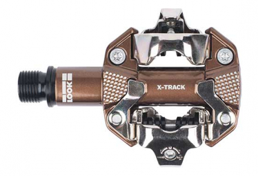 Look X-Track Gravel Edition Pedali Clipless Bronze