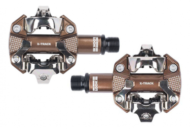 Look X-Track Gravel Edition Clipless Pedals Bronce