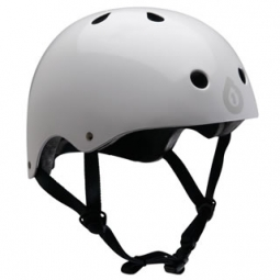 2011 661 SIXSIXONE Helmet Bowl DIRTLID White / Black