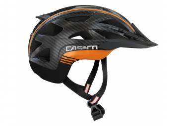 Helmet Casco Activ 2 Black Carbon Orange