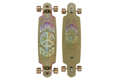 Longboard Complet Dusters FLOWER POWER 38 HEMP MULTI