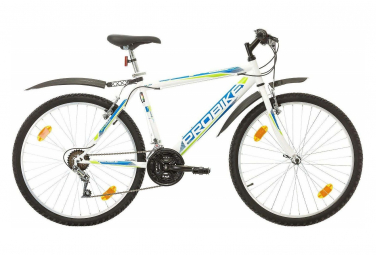 VTT 26'' Rigide Homme Probike 26 - 18 Vitesses - Freins V-Brake - Fourche rigide