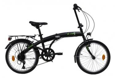 Vélo 20'' Rigide Mixte Acier  Pliant Karma x-one  - 6 vitesses - Shimano TY21