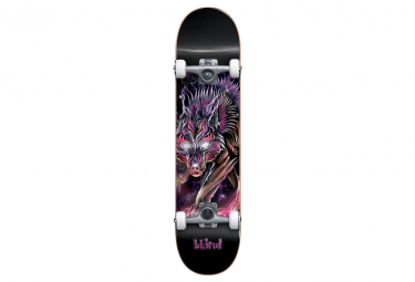 Image of Skateboard complet blind 7 625 cosmic wolf purple