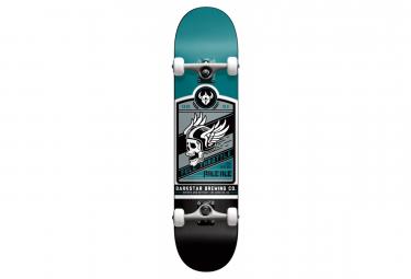 Image of Skateboard complet darkstar 7 625 full throttle matte teal
