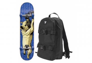 Skateboard Complet Darkstar MIN 7.0 BULLDOG BLUE   BACKPACK