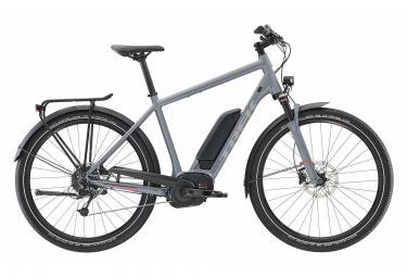 Trek Electric City Bike UM5+ 400Wh Shimano Deore 9s Grey 2019