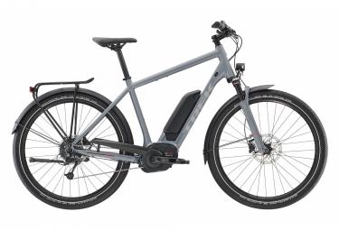 Trek Electric City Bike UM5+ 500Wh Shimano Deore 9s Grey 2019