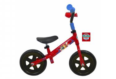 Image of Draisienne 10 licence pat patrouille pour enfant de 2 a 4 ans sans pedales
