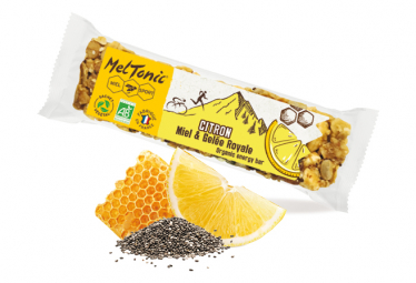 Barre Energetique Meltonic Cereales Bio Citron Chia 30g