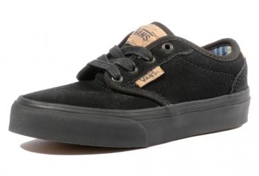 Chaussures Noir Atwood Deluxe Garçon Vans